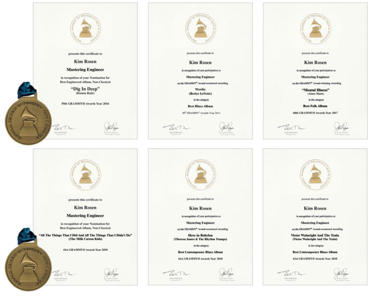 Kim Rosen Grammy Awards